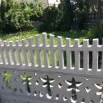 mycie płotu ogrodzenia września